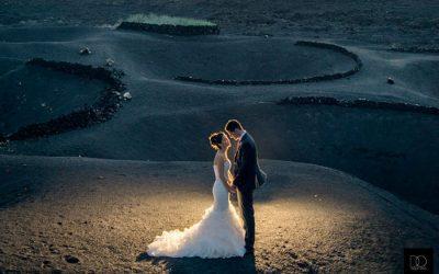 Gracias a D.O Unique Events, Lanzarote está de moda como plató de bodas.